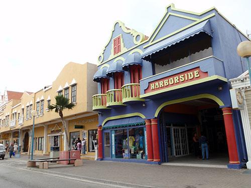 Kralendijk, Bonaire buildings