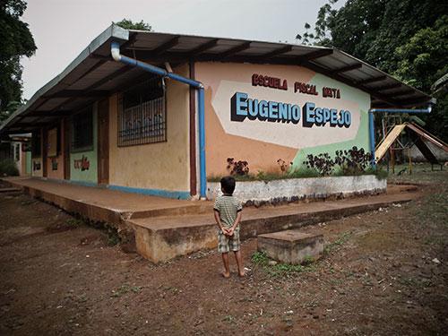 School in San Cristobal