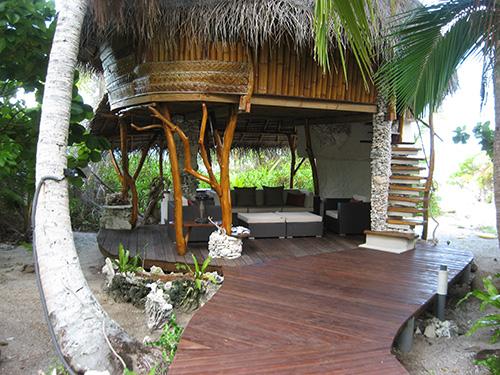 One of Ninamu's bungalows