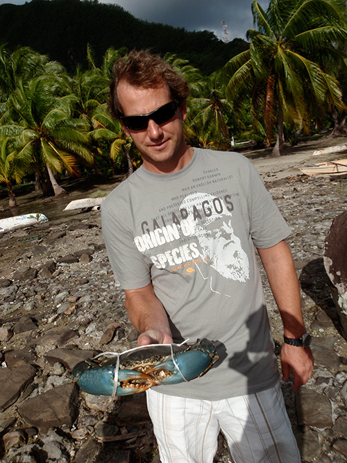 Jason and the giant crab