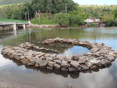 Ancient fish trap