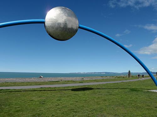 """Napier public art, """"Ecliptic"""""""