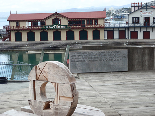 Wellington public art