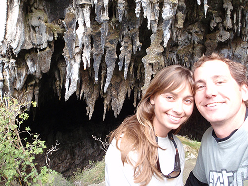 Rawhiti Cave entrance