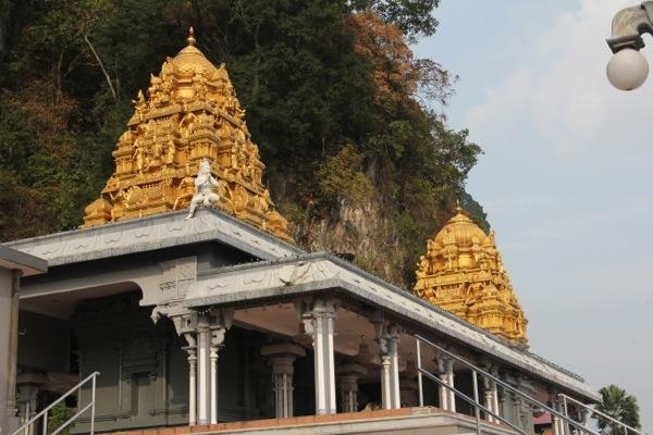 Entrance shrine at Batu Caves